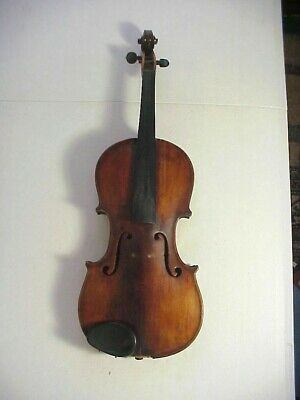 18th Century ITALIAN VIOLIN with GRAFTED PEG HEAD Finely Made #7