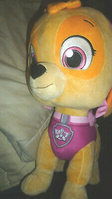 """OFFICIAL PAW PATROL JUNGLE RESCUE CHASE LARGE 12/"""" SOFT TOY PLUSH TEDDY"""