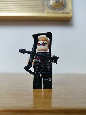 Genuine Lego Marvel Avengers Super Heroes Minifigure - Hawkeye - From Set 6868