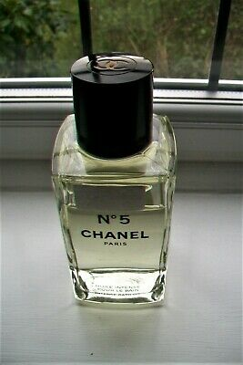 Chanel-Chanel no 5 Intense Bath Oil.400 ml.Glass bottle 17 cm.5/6 full.