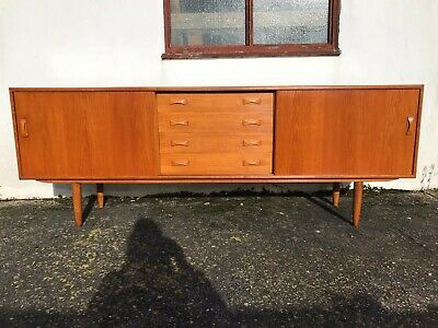 Danish oak Sideboard Clausen & Son Retro Vintage Mid Century