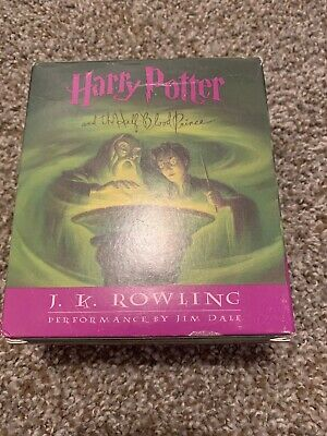 Harry Potter And The Half Blood Prince 17 CD Audiobook Performed by J.K. Rowling