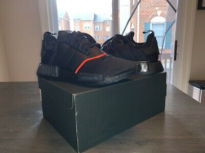 Adidas Men S Originals Nmd R1 Shoes New Authentic Core Black