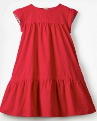 Girls MINI BODEN dress cord pinafore 4 5 6 7 8 9 10 11 12 years RRP £24-28 red