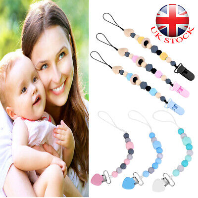 Dummy Clip Baby Soother Clips Teething Baby Teether Chain Holder Pacifier Straps