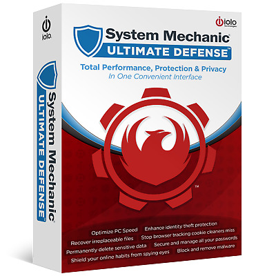 System Mechanic Ultimate Defense-all in 1 Optimize Protect anti malware sys