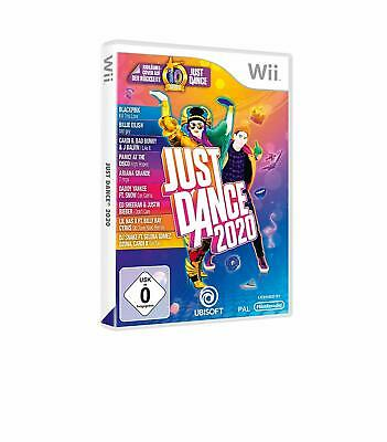 Nintendo Wii Game Just Dance 2020 20 with 40 New Songs German Version New
