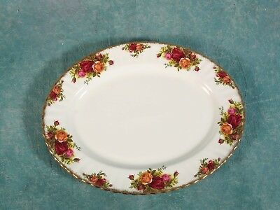 Royal Albert Old Country Roses Meat Serving Platter FIRST Edition England