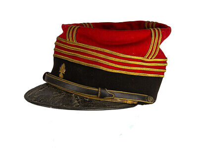 c1890 France Infantry Major Commandant Kepi