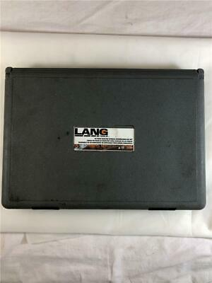 Lang 2599 20 Piece Master Spindle Rethreading Dies