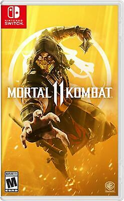 Mortal Kombat 11 - Nintendo Switch Sealed New