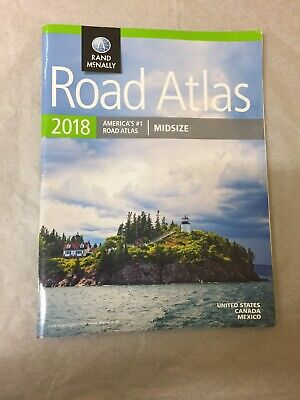 Rand Mcnally USA Road Atlas 2018 BEST Large Scale Travel Map