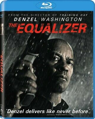 The Equalizer (Blu-Ray) Denzel Washington NEW Factory Sealed, Free Shipping