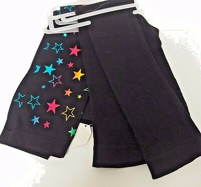 Back To School Set of 2 Girls Leggings Size Small (4-6 X )