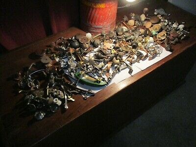HUGE Lot of  Misc.Knobs And Drawer Pulls 15lbs+ Antique- Modern Upcycle Crafts