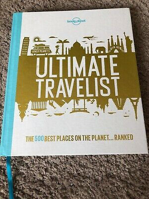BRAND NEW Lonely Planet ULTIMATE Travel List Book 500 Best Places On Earth!!