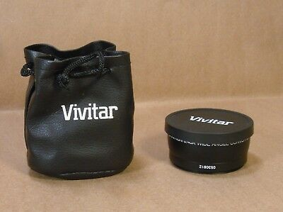 Wide Angle With Macro Lens & UV Filter Vivitar HD4 Optics