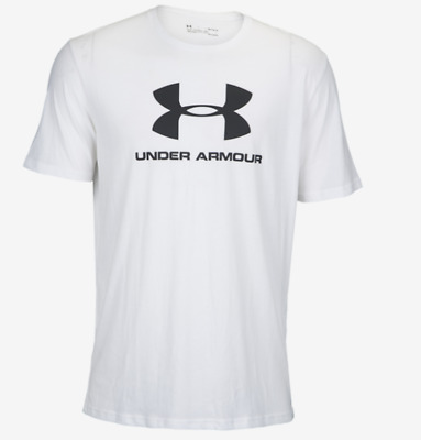 Under Armour Men/'s Sportstyle Logo T Shirt Blue Large New New With Tags JC