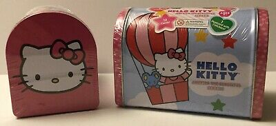 Hello Kitty America The Beautiful Series 2 Collectible Tin Mailbox - Lot Of 2