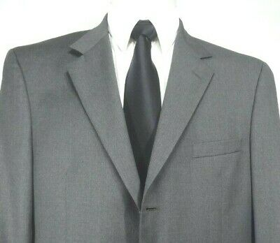 Jos.A.Bank 100% Wool Gray Mitchell Model Fully Lined Sport Coat Jacket 42L