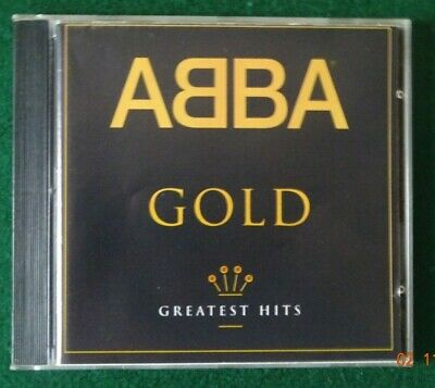Cd - Abba - Abba Gold  - Greatest Hits - Made By Distronics