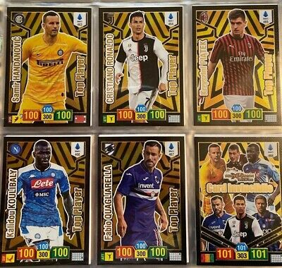 Adrenalyn calciatori panini 2018-19 Set Completo  469 cards top players inclusi!