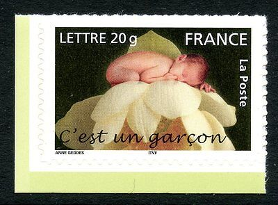 Stamp / Timbre France Neuf N° 3805 ** Naissance / C'est Un Garcon / Issus Carnet