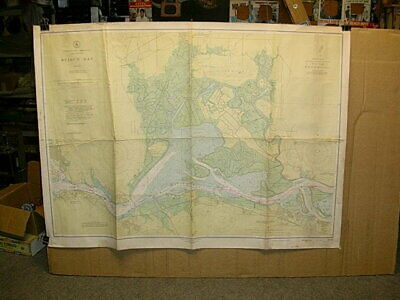 1948 San Francisco Bay Area Navigation Map: Suisun & Grizzly Bay west of Vallejo