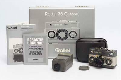 Rollei 35 Classic w.     2.8/40mm Sonnar HFT MINT IN BOX