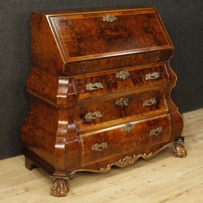 Fore Secretaire Dutch Desk Dresser & Chest of Drawers Antique Style
