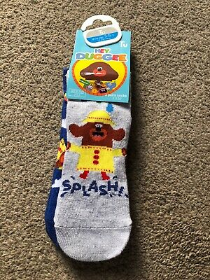 Tu Clothing Hey Duggee Baby Toddler Socks 3 Pack 12-24 Months 3-5.5