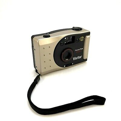 Vivitar Film Camera PN2011 Panoramic 35mm Point and Shoot New and Unused No Box