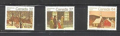 Canada 1983 CHRISTMAS STAMPS SCOTT 1004-1006 VF MINT NH (BS14069)