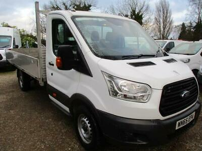 2015 Ford Transit 2.2 TDCI PICK UP DROPSIDE119K GUARANTEED NO VAT 125PS H1L4 LWB
