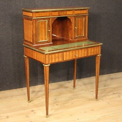 Secretary Desk Antique Style Louis XVI Desk Furniture Table Work Wooden 900
