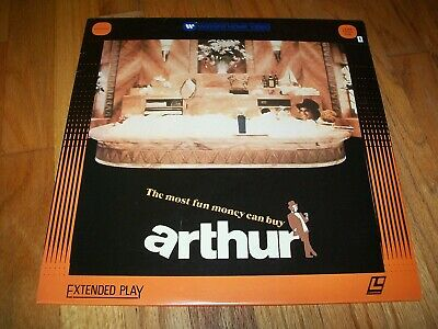 ARTHUR Laserdisc LD VERY GOOD CONDITION DUDLEY MOORE GREAT FILM AND VERY FUNNY!