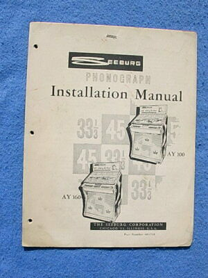NEW Seeburg SPS2 /& ESPS2 Most Complete Service /& Parts Manuals 292 Pages