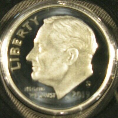 Silver. 2019-S Roosevelt Dime Silver Proof 99.9/% Deep Cameo Pure