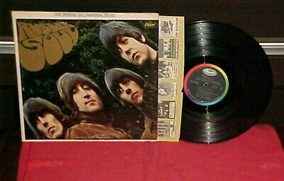 "The Beatles ""Rubber Soul"" LP Capitol Stereo 1965"