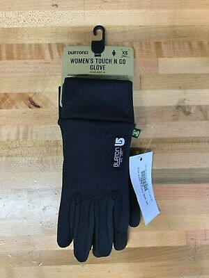 New With Tags Burton Womens Touch N' Go Gloves XS