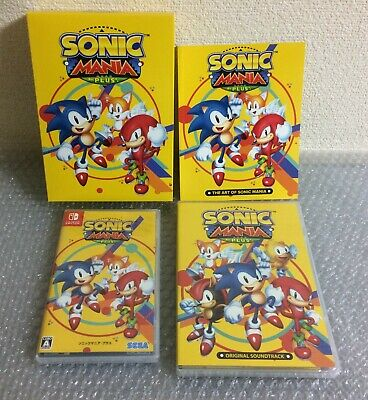 USED Nintendo Switch SONIC MANIA PLUS Limited Edition JAPAN import Japanese game
