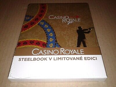 Casino Royale Blu-ray Steelbook Quarter Slip (James Bond 2006)