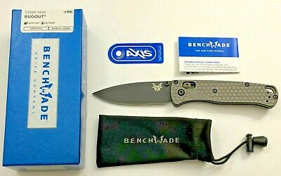 Bugout 535BK-1902 Blade w/ Aftermarket Scales - Benchmade Knife