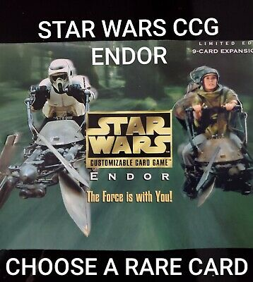 Star Wars CCG Endor Rare Single Cards - Choose Your Card - SWCCG