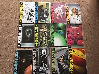 Doomsday Clock 1-12 Dc Comics Full Set