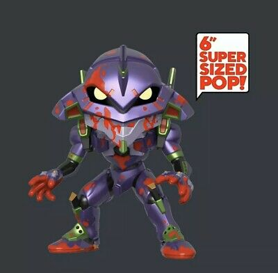"Funko Pop Animation Evangelion Bloody 6"" Eva Unit 01 Hot Topic Exclusive Presale"