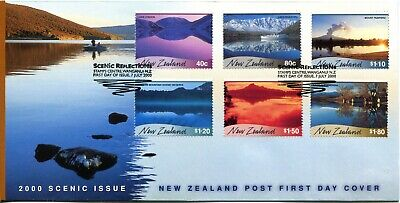 New Zealand 2000 Scenic Reflections FDC Cover