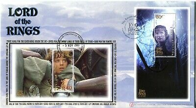 New Zealand 2003 Lord of the Rings - Buckingham Limited Edition Cover