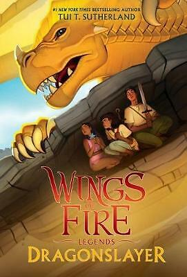 Wings of Fire Legends: Dragonslayer by Tui Sutherland Paperback Book Free Shippi