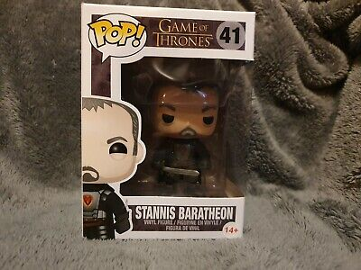 FUNKO POP! GAME OF THRONES  - STANNIS BARATHEON #41 * VAULTED * Rare